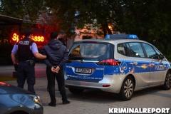 Der Festgenommene in wurde in eine Gefangenensammelstelle gebracht.|Foto: DLB