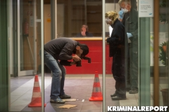 Kriminaltechniker sichern Spuren am Tatort.|Foto: DLB