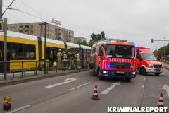 Feuerwehr am Unfallort.|Foto: CSH