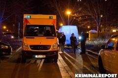 Ein Rettungswagen am Unglücksort.|Foto: CSH
