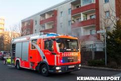 Die Feuerwehr am Einsatzort.|Foto: CSH