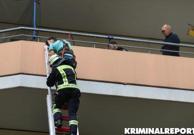 Balkonkletterer in Marzahn festgenommen