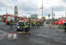 Zwei Personen bei Unfall verletzt – lange Staus auf der Landsberger Chaussee