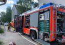 Garagenanbau in Brand geraten