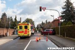 Feuerwehr an der Unfallstelle.|Foto: CSH