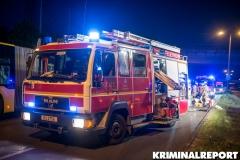 Einsatzkräfte der Freiwilligen Feuerwehr Kaulsdorf.|Foto: DLB