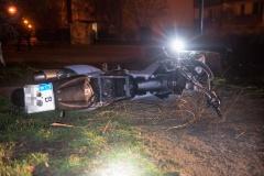 Eine Abdeckung riss bei dem Unfall ab.|Foto: DLB