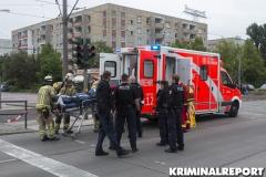 Der schwer verletzte Mann musste in ein Krankenhaus gebracht werden.|Foto: CSH