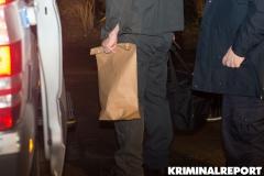 Kriminaltechniker sicherten Spuren in der Wohnung.|Foto: DT