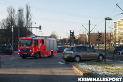 Das Fahrzeug kam  auf einer Grünfläche zum stehen.|Foto: CSH