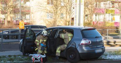 Verkehrsunfall sorgt für Chaos auf der Riesaer Straße