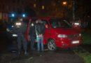 Polizei stoppt Transporter